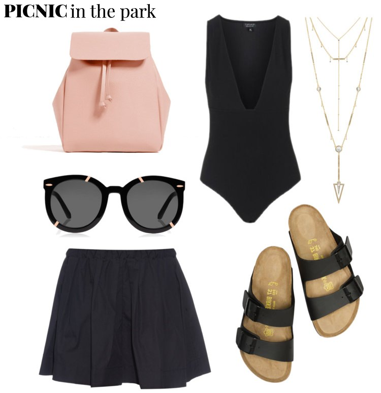 outfit ideas, polyvore, pelamarela, blogger, fashion, style, summer, picnic outfit, park, vacation