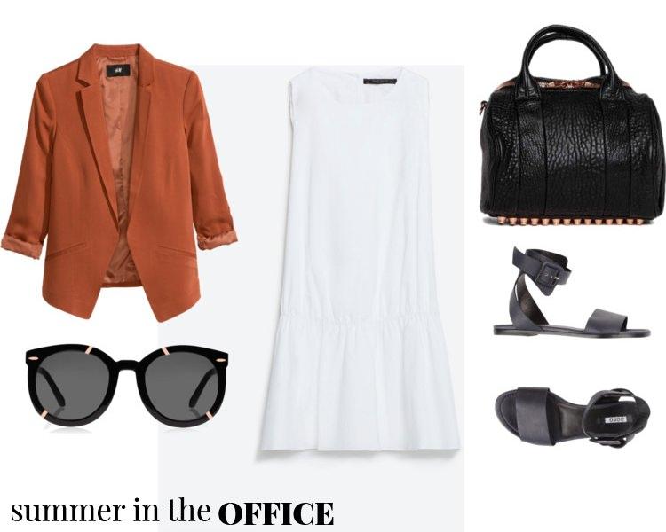 outfit ideas, polyvore, pelamarela, blogger, fashion, style, summer, office fashion