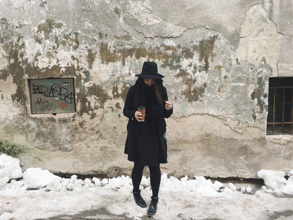 winter, winter in black, pelamarela, blogger, fashion, outfit, all black