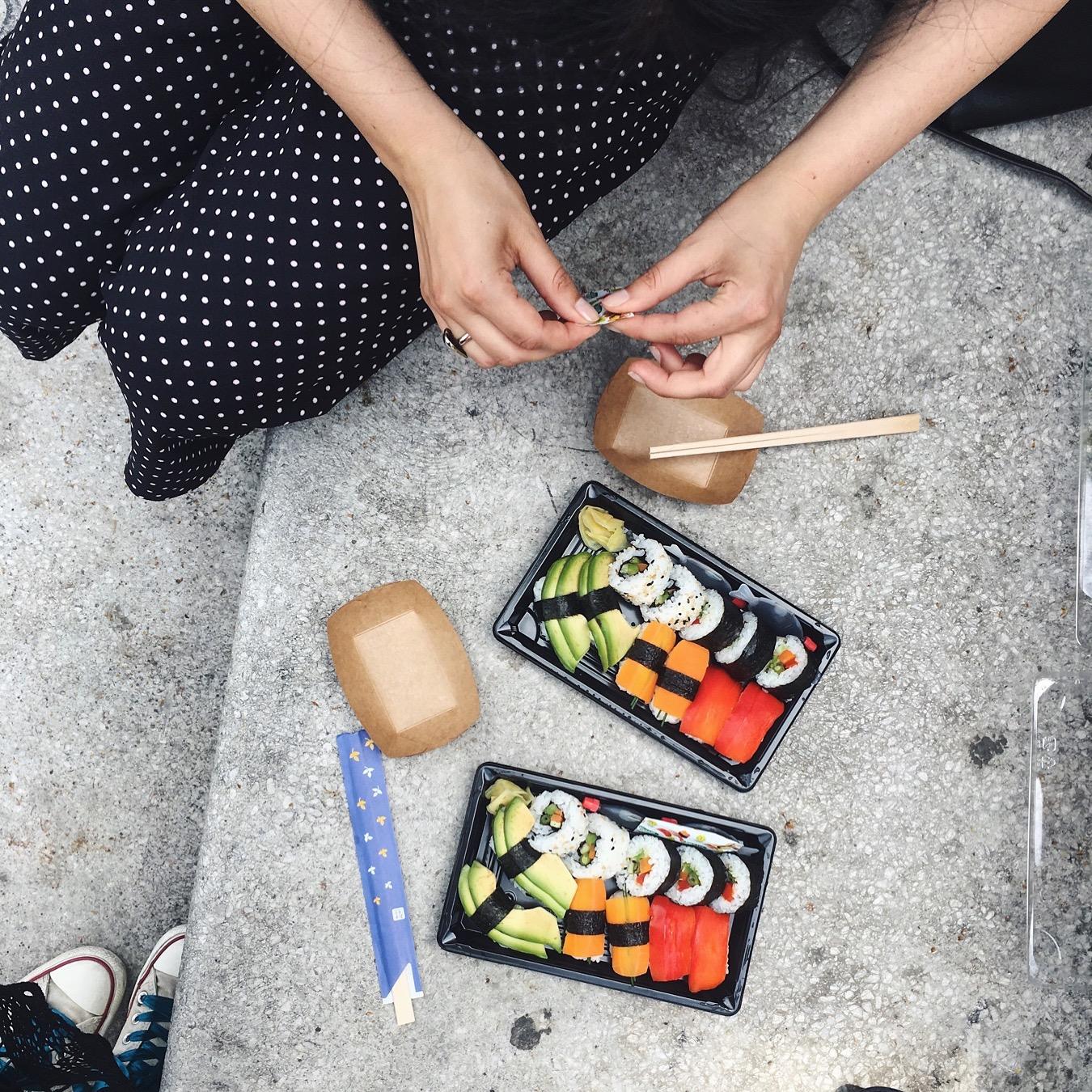 dobr suši = srečn buši  ️#lunchdate